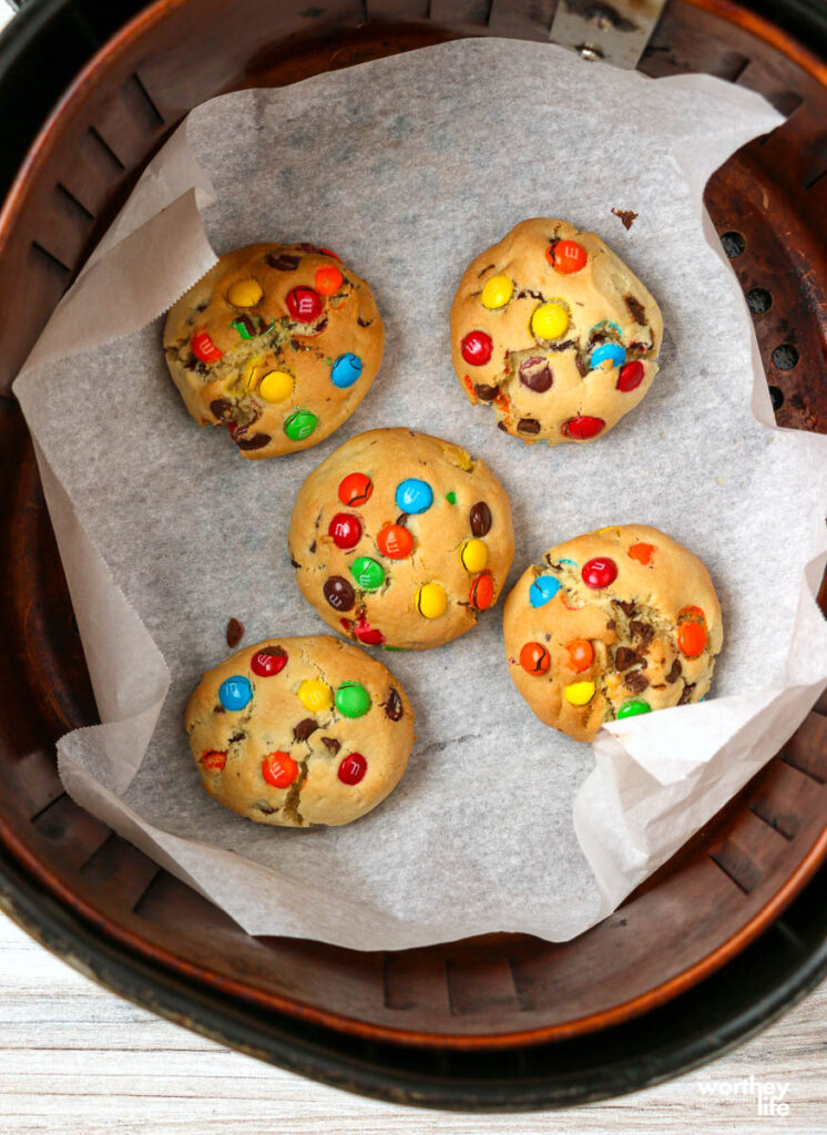 cookies in the air fryer