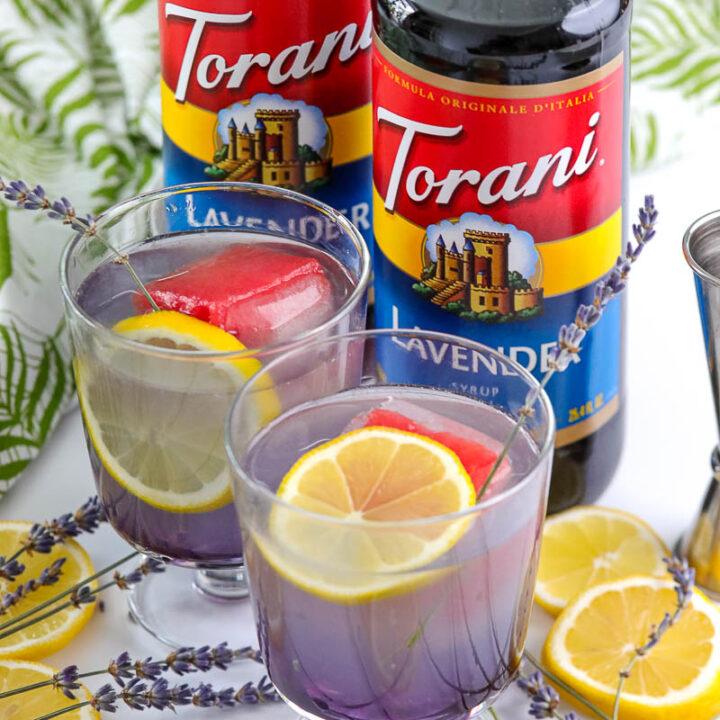 Lavender Lemonade Cocktail