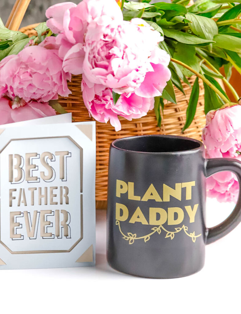 personalized father's day gift ideas with Cricut Joy