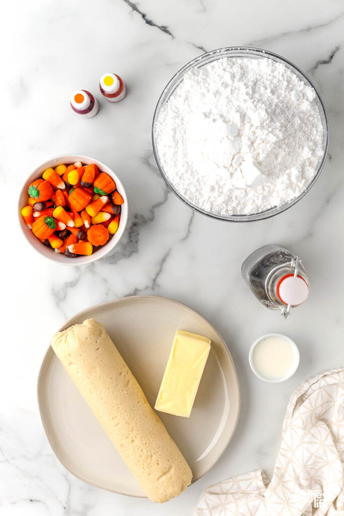 candy corn pizza ingredients