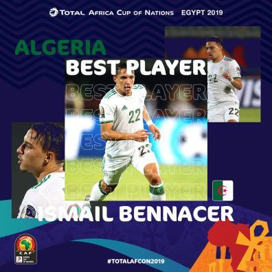 إسماعيل بن ناصر أفضل لاعب في الدور الأول