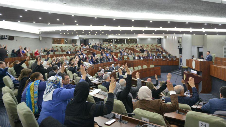 مشروع قانون الانتخابات في البرلمان