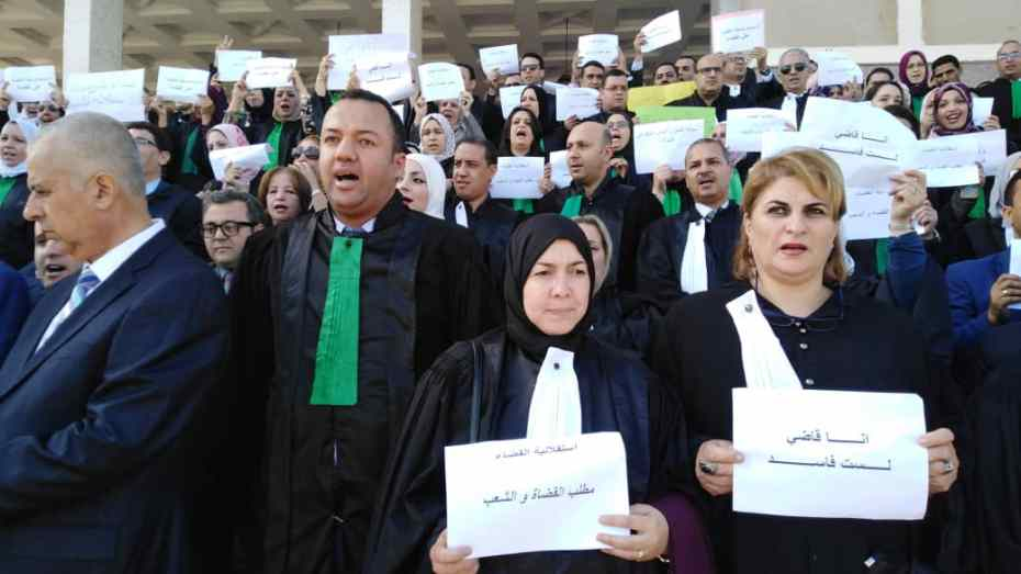 بيان جديد لنقابة القضاة