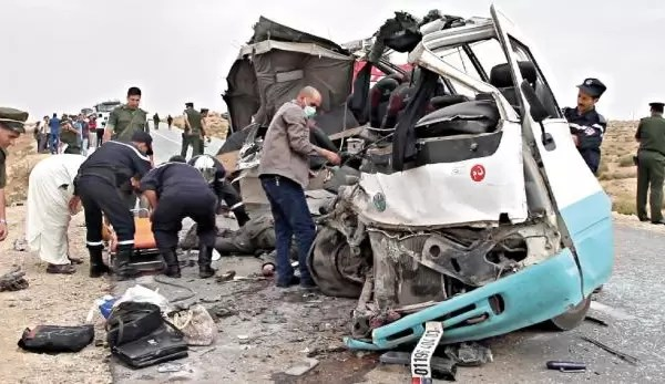 حوادث المرور تودي بحياة 7 أشخاص في ظرف 24 ساعة