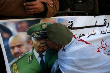 Funeral of Algeria's military chief Lieutenant General Ahmed Gaed Salah in Algiers,
