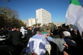 Funeral of Algeria's military chief Lieutenant general Ahmed Gaed Salah in Algiers
