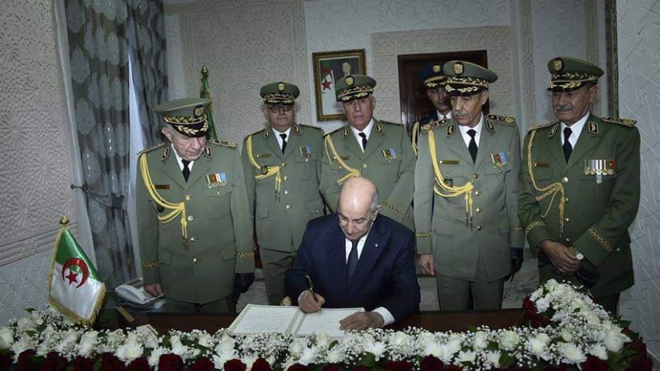الجيش يُدعّم مساعي الرئيس
