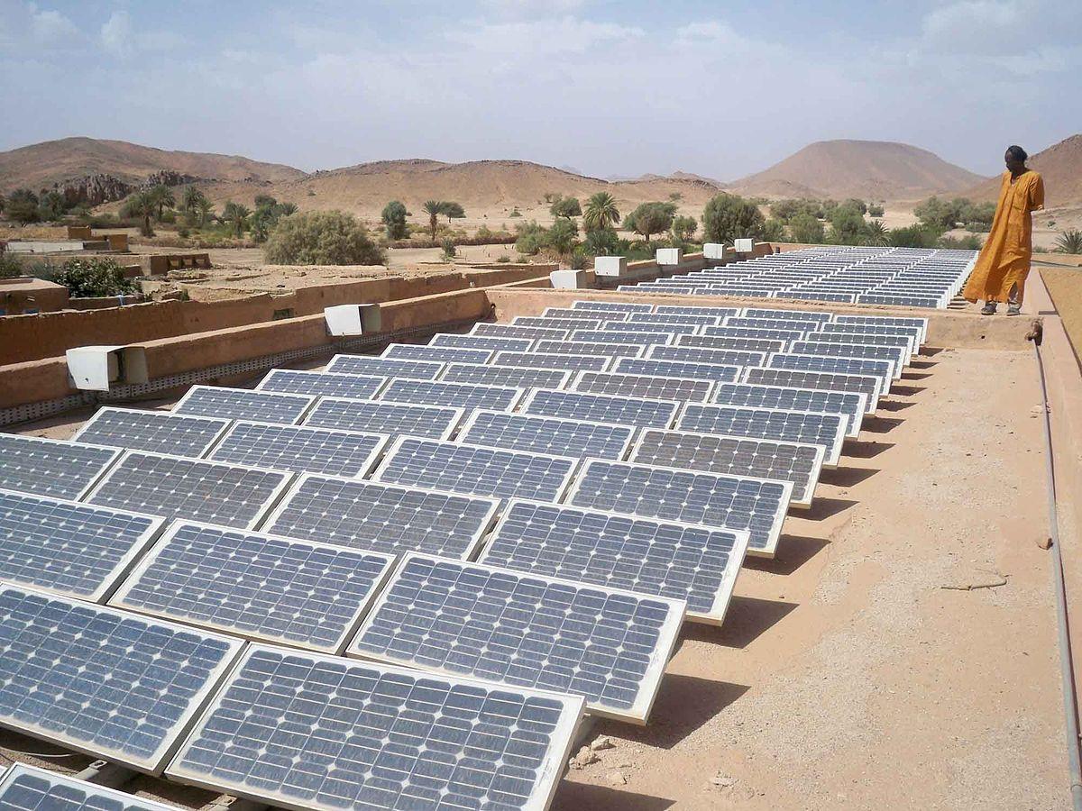 الجزائر تتجه نحو إنتاج الطاقات المتجددة في صحرائها