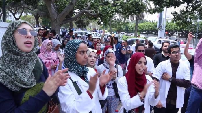 إضراب يشل المستشفيات
