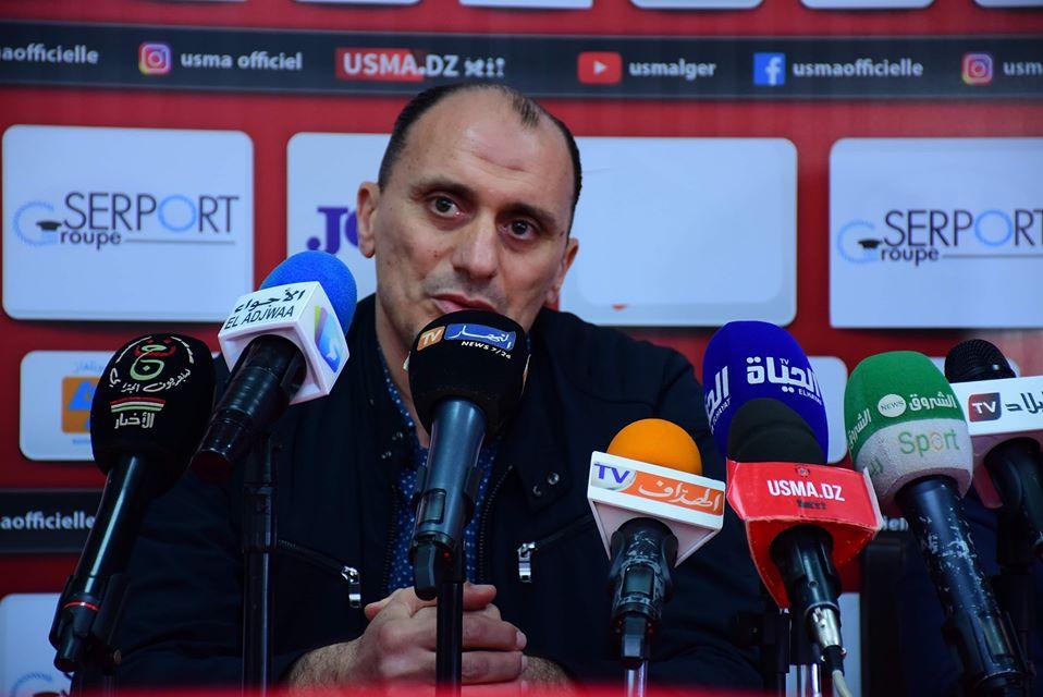 مدرب إتحاد العاصمة منير زغدود