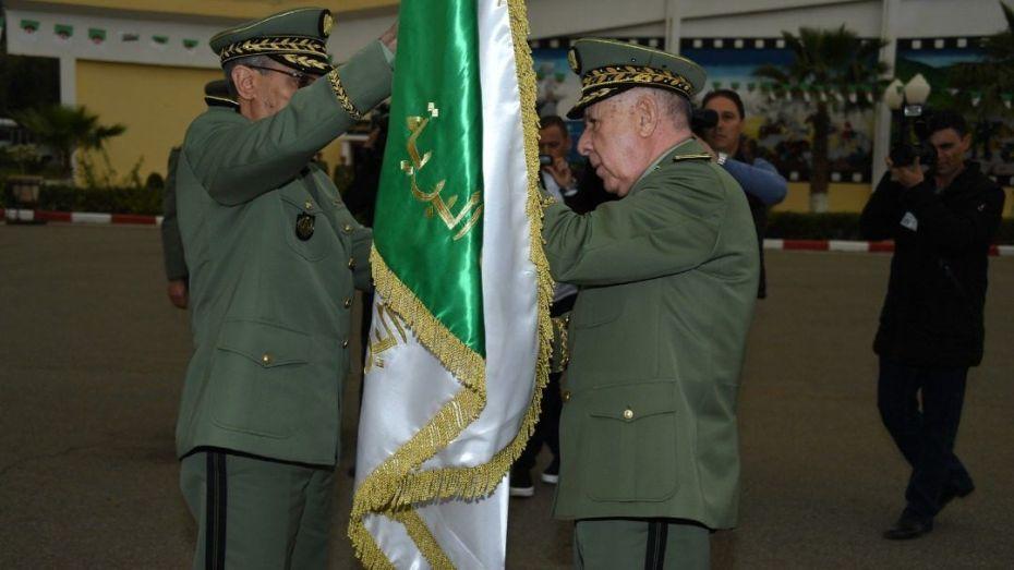 شنقريحة ينصب قائد القوات البرية