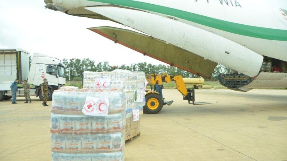 شحنة مساعدات جديدة لدولة إفريقية