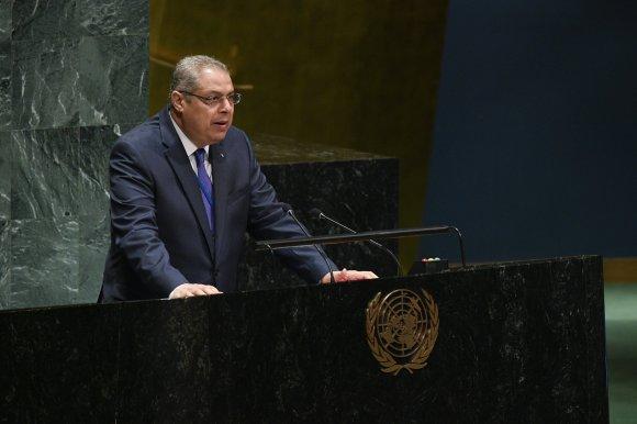 سفيان ميموني يؤكد مواصلة الجزائر جهودها لتعزيز الحوار في ليبيا