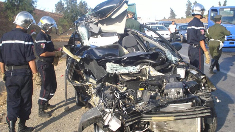 أزيد من 100 حادث مرور جسماني خلال فترة نهاية الأسبوع