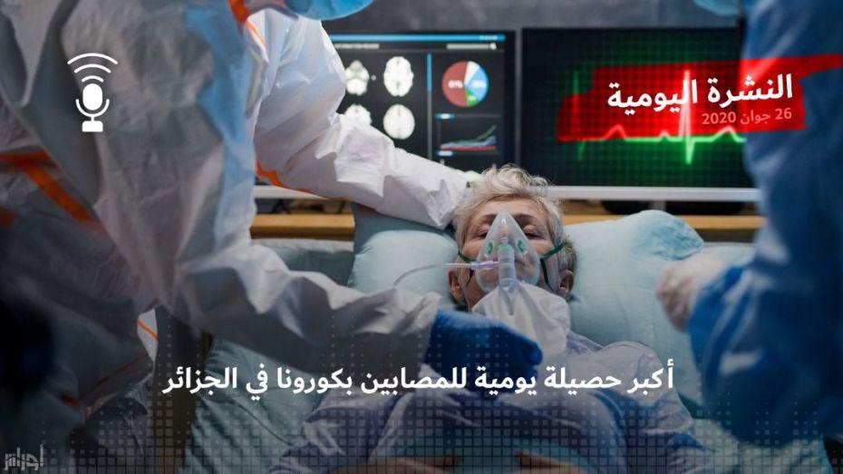 النشرة اليومية| منحنى كورونا يرتفع ومستشفيات في حالة تشبع