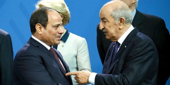 عبد المجيد تبون يتلقى اتصالا هاتفيا من عبد الفتاح السيسي