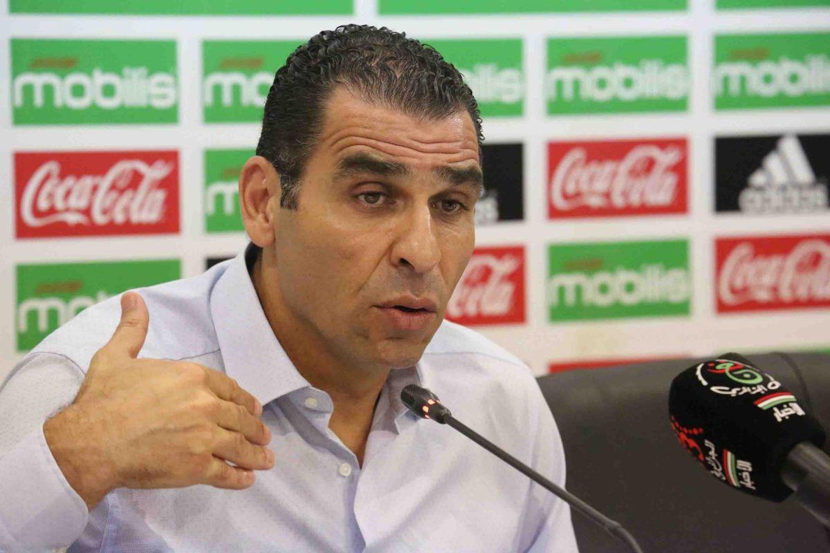 """""""خير الدين زطشي"""" رئيس الاتحادية الجزائرية لكرة القدم"""