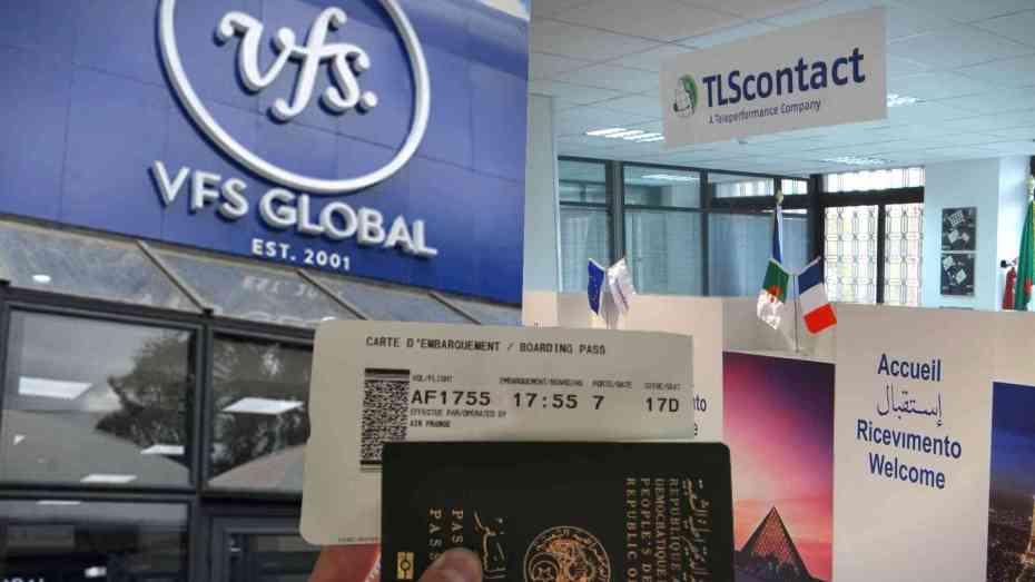 تحديد موعد استقبال طلبات التأشيرة إلى فرنسا