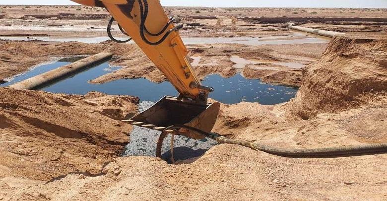 الوادي يطالب سوناطراك بإزالة ما خلفه التسرب النفطي