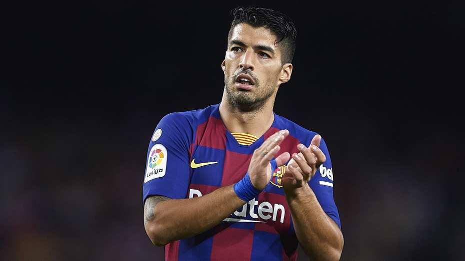 لويس سواريز يغادر برشلونة
