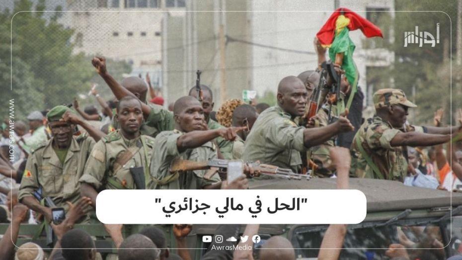 """"""" الحل في مالي جزائري"""""""