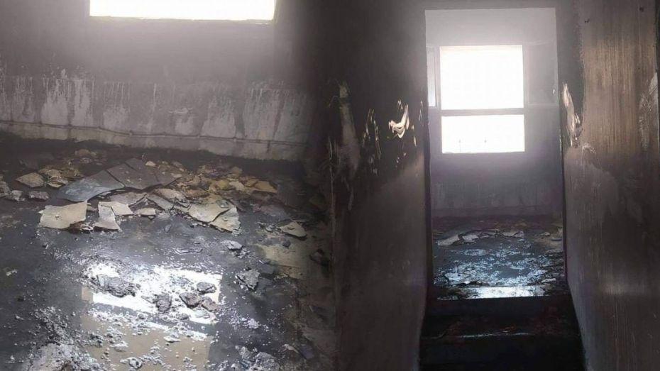الحريق جديد بمستشفى الأم والطفل بالوادي