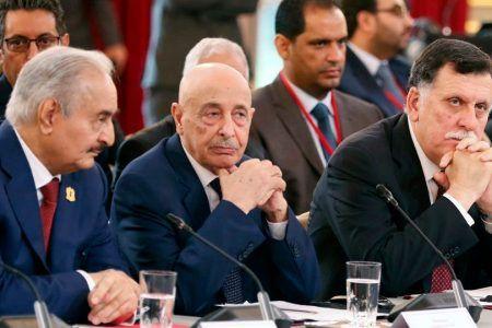 الفرقاء في ليبيا