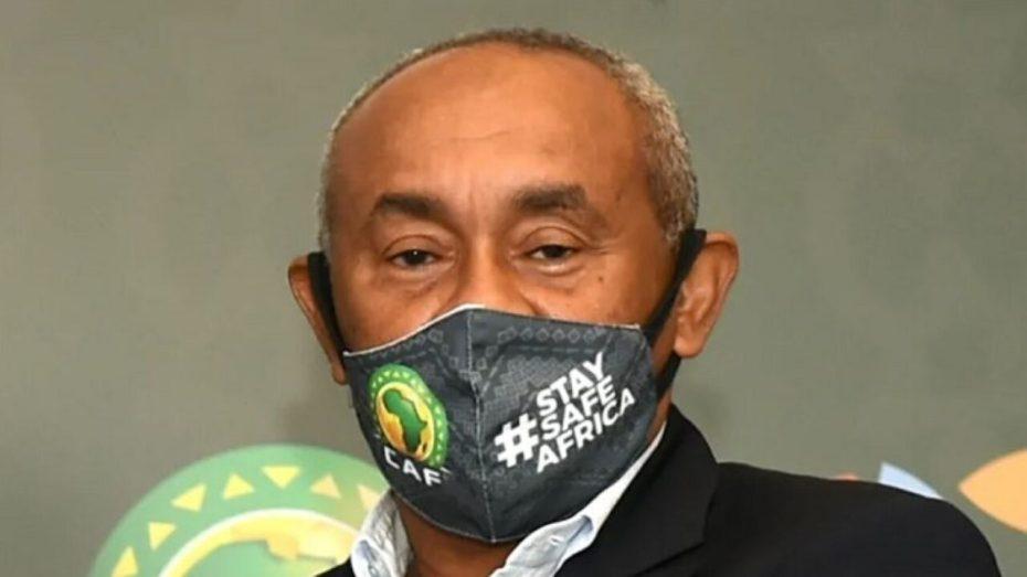 إصابة رئيس الاتحاد الإفريقي لكرة القدم بكورونا