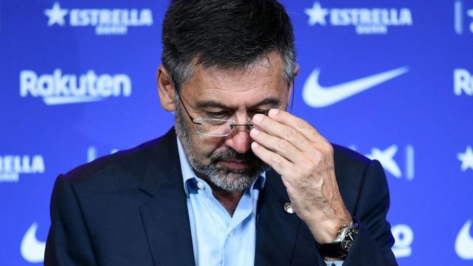 رسميا.. بارتوميو يعلن استقالته من رئاسة برشلونة
