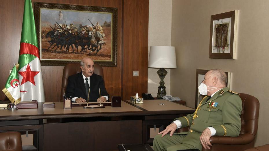 السعيد شنقريحة يقدم للرئيس تبون تقريرا حول ما يجري في الحدود