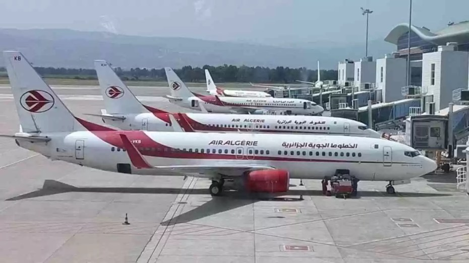 برمجة 31 رحلة يوميا بسعة 2800 مقعد عبر جميع المطارات الداخلية