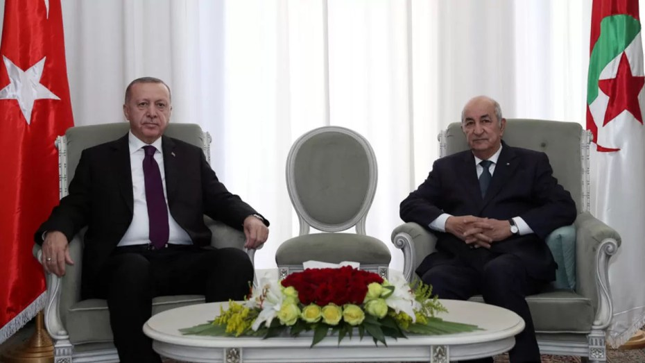 الرئيس التركي سعيد لشفاء الرئيس تبون
