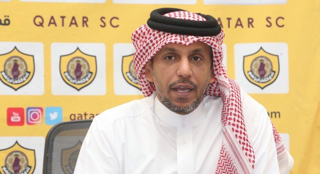 مسلم الهلابي الناطق الرسمي لنادي قطر القطري.
