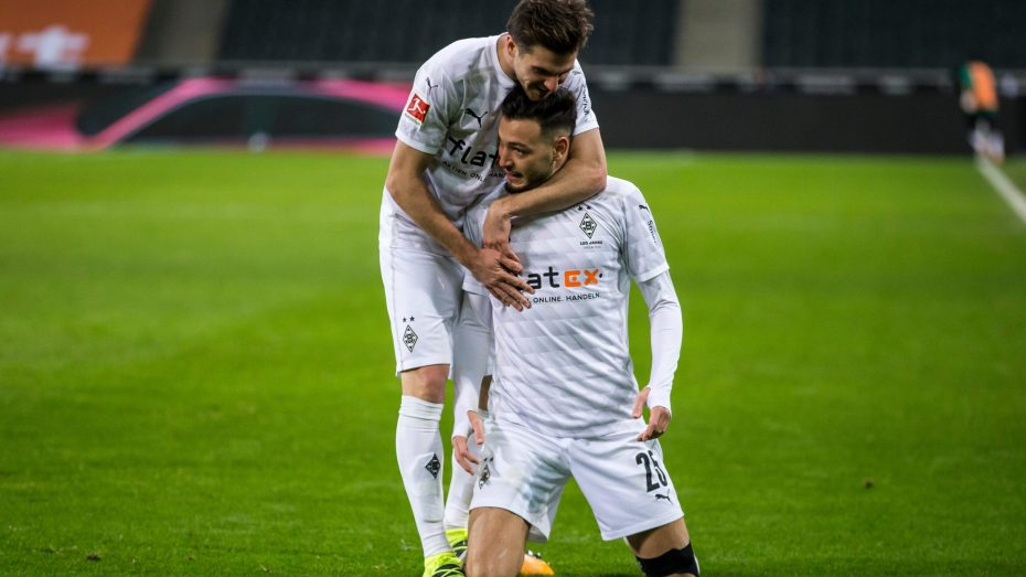 بن سبعيني يسجل هدفا جميلا في الدوري الألماني