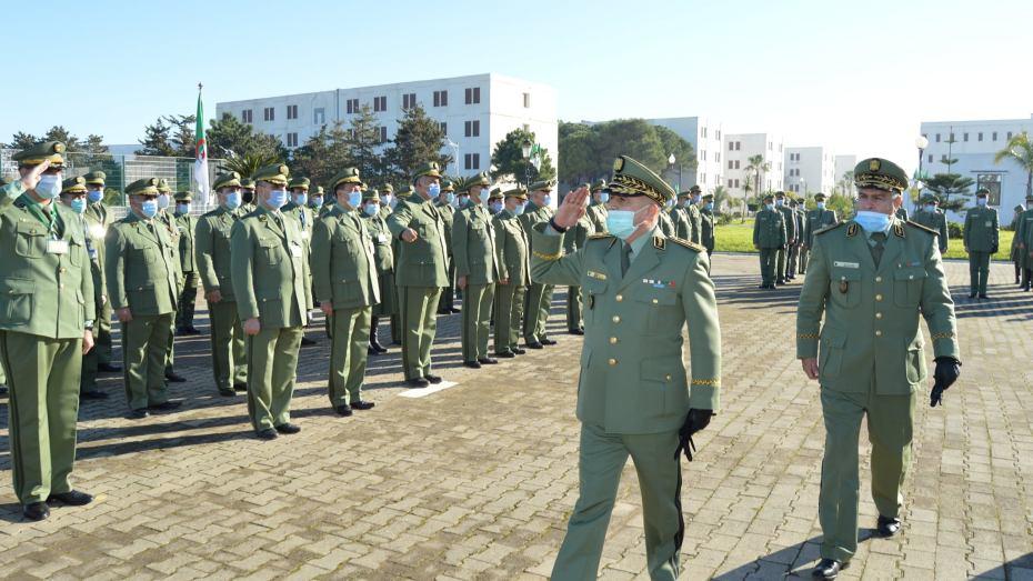 تنصيب العميد أعومر قائدا للمدرسة العسكرية المتعددة التقنيات
