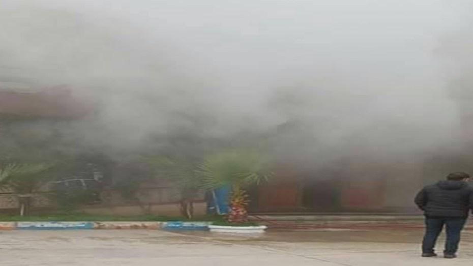 حريق مهول في مقر أحد الأندية الجزائرية يُسبب عددا معتبرا من حالات الاختناق