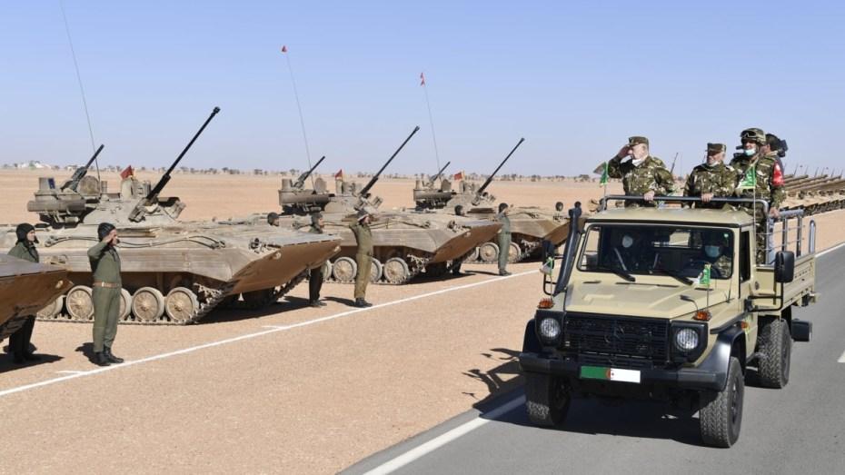 شنقريحة يؤكد الأهمية البالغة لتحضير القوات بهدف الرفع من الجاهزية القتالية للأفراد