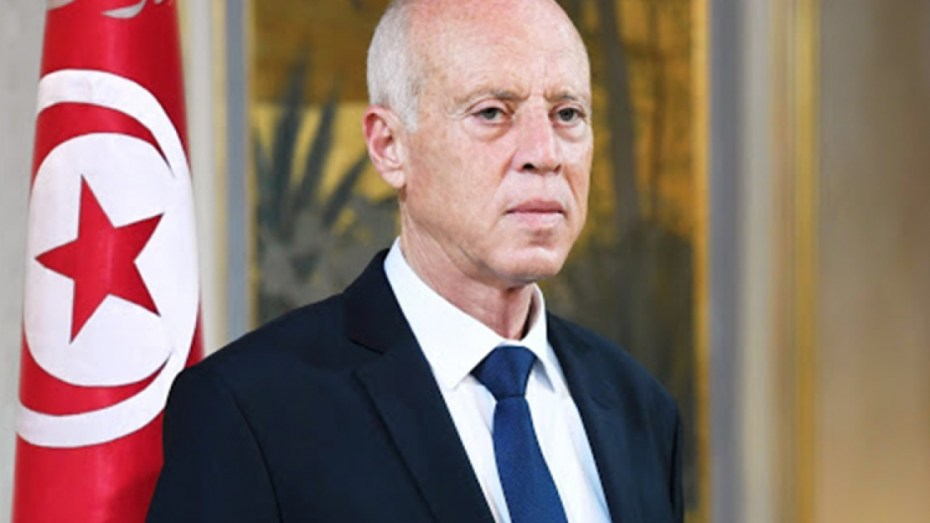 الرئيس التونسي قيس سعيّد يعزي الشعب الجزائري والرئيس تبون
