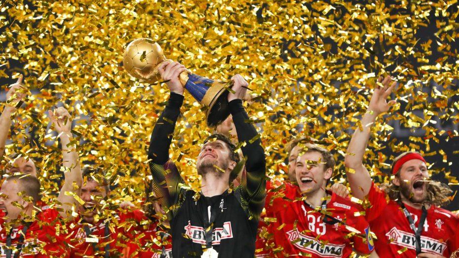 الدنمارك تتوج بلقب بطولة العالم لكرة اليد