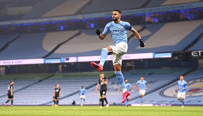 بالفيديو | رياض محرز يسجل أول أهدافه في سنة 2021