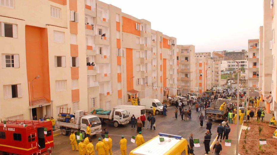 الشروع في انجاز 145 ألف وحدة سكنية