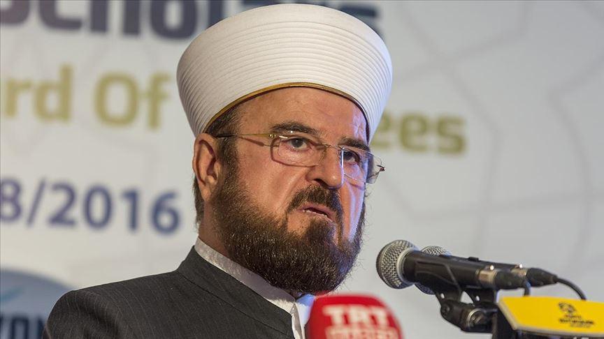 الاتحاد العالمي لعلماء المسلمين يفتي بحرمة التطبيع مع الصهاينة