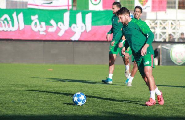مولودية الجزائر يفسخ عقد اللاعب عبد المؤمن جابو