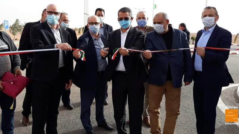 سوناطراك: حكار يدشن مرافق جديدة بالأغواط وأدرار