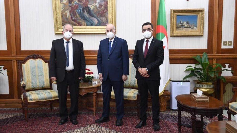 في إطار تشاور الرئيس.. الأفافاس وحزبين آخرين في قصر المرادية