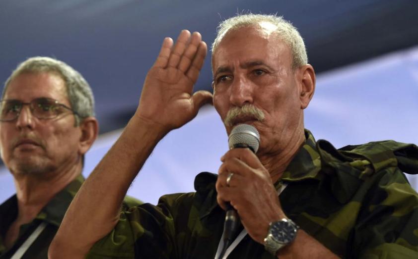 الرئيس الصحراوي يغادر إسبانيا عائدا للجزائر