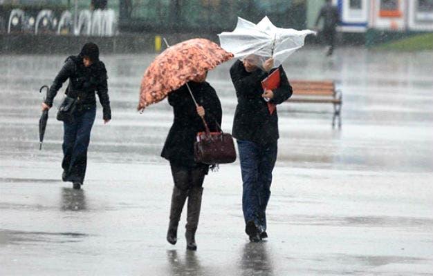 مصالح الأرصاد الجوية تحذر من أمطار رعدية و رياح قوية