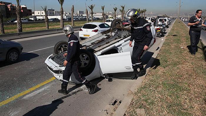 تراجع في حوادث المرور خلال 2020