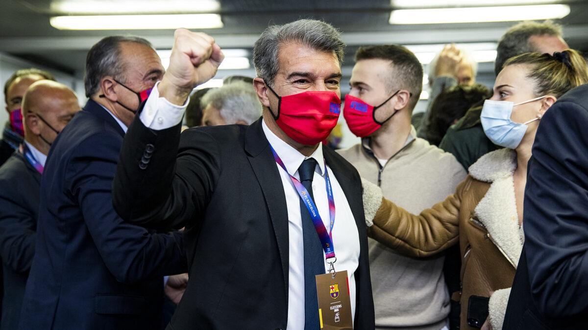خوان لابورتا يعود لرئاسة نادي برشلونة ويكشف ما سيفعله مع ليونيل ميسي