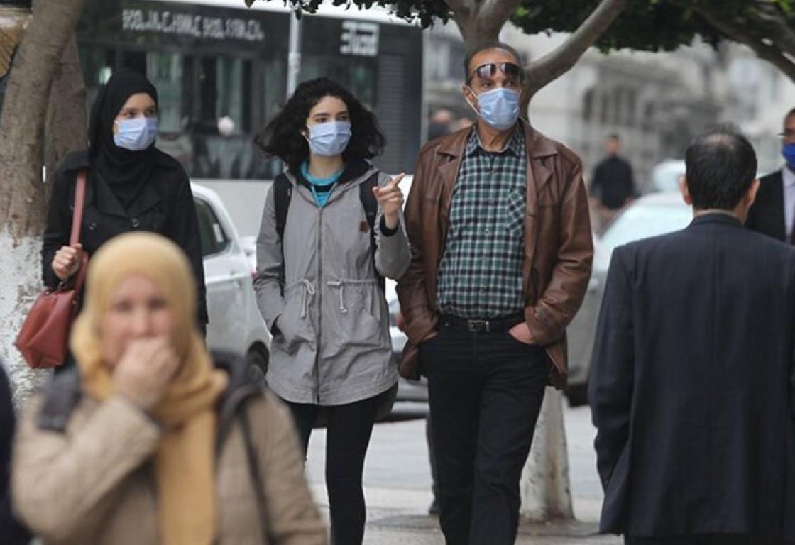 الجزائر تسجل 168 إصابة جديدة بفيروس كورونا